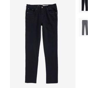 AG boys Kingston skinny slim jeans black 10